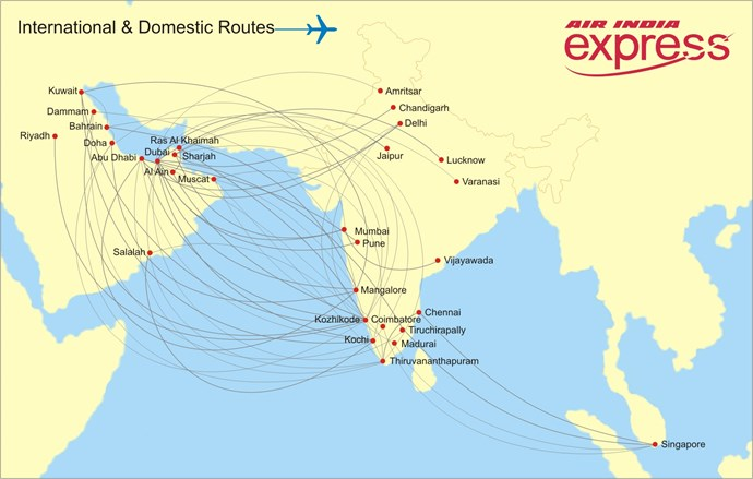 Express Route Map & Schedule